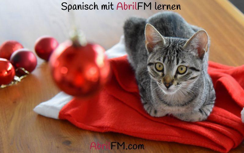 129. Die Katze- Spanisch mit AbrilFM lernen